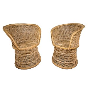 Palmer Round Wicker Chair