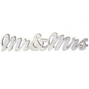 Wooden Mr. & Mrs. Sign