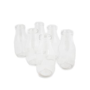 Small Milk Bottle Jars