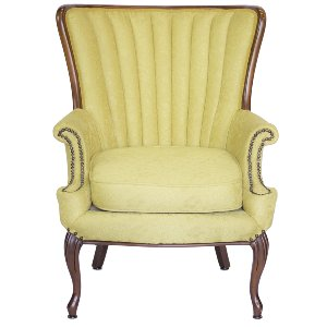 Crandall Yellow Armchair