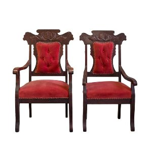 Nora Sweetheart Chairs (pair)