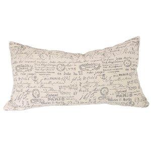 Script Lumbar Pillow