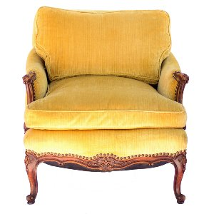 Kirby Yellow Armchair
