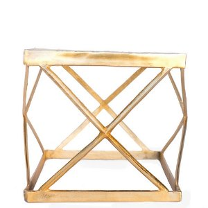 Celia Gold Side Tables (pair)