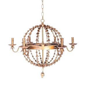 Rose Gold Chandelier