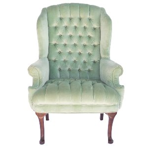 Bowman Mint Armchair