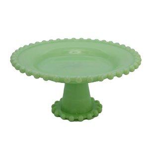 Jadeite Milk Glass Stand