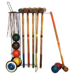 Rolling Croquet Set