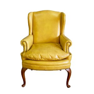 Terrance Leather Wingback