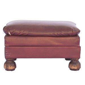 Langdon Leather Ottoman