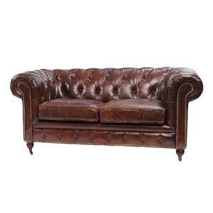 Maddox Leather Loveseat