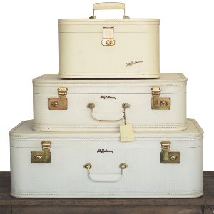 Lady Baltimore Cream Luggage Set