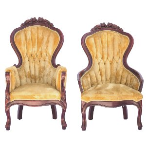Huffman His & Hers Chairs (pair)