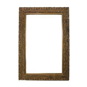 Large Ornate Gold Frame