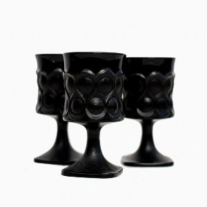 Black Depression Glassware