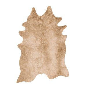 Tan Cowhide Rug
