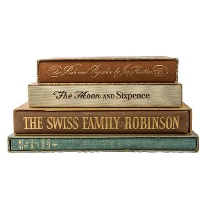 Classic Book Stack