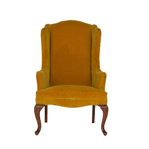 Ashton Mustard Chair