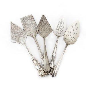 Vintage Silver Serving Pieces