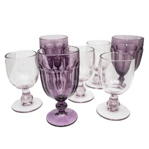 Purple Depression Glassware