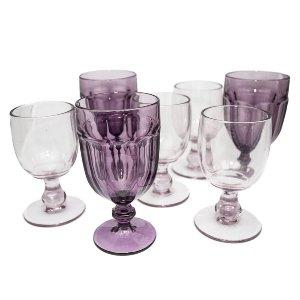 Purple Depression Glassware