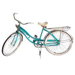 Vintage Blue Bicycle