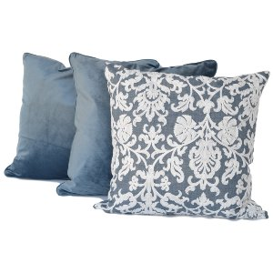 Blue + White Pillow Set