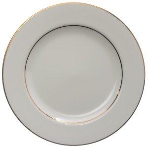 White & Gold Dinner Plates