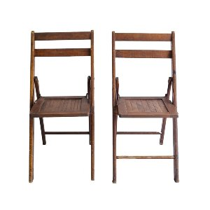 Linden Folding Wooden Chairs