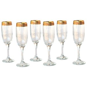 Gold Encrusted Flutes