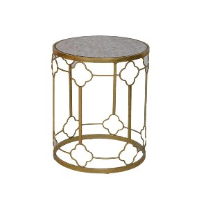 Georgia Gold Accent Table