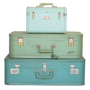 Mint Luggage Set