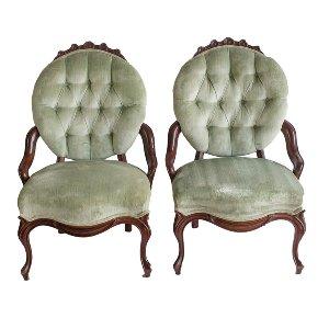 Audra Velvet Chair
