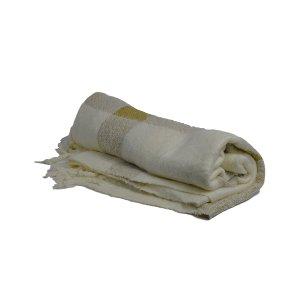 Gold Tartan Blanket