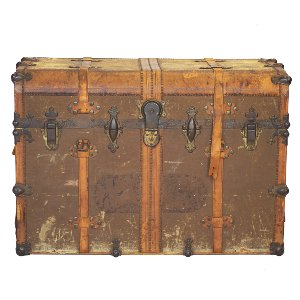 H.W. Rountree Steamer Trunk