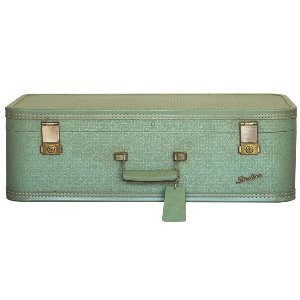 Starline Mint Green Suitcase