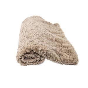 Tan Faux Fur Blanket