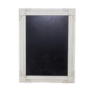 Ornate White Chalkboard