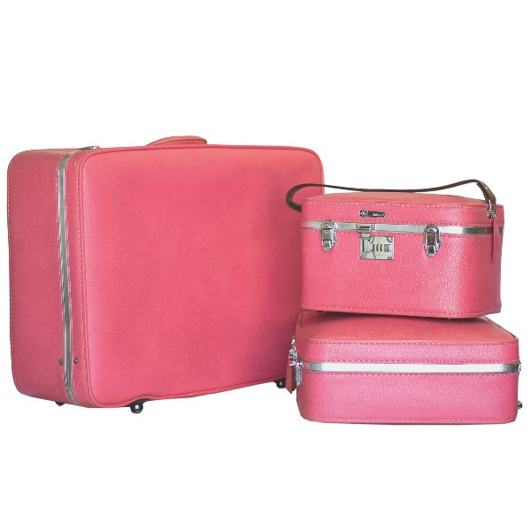U.S. Trunk Co. Pink Luggage Set