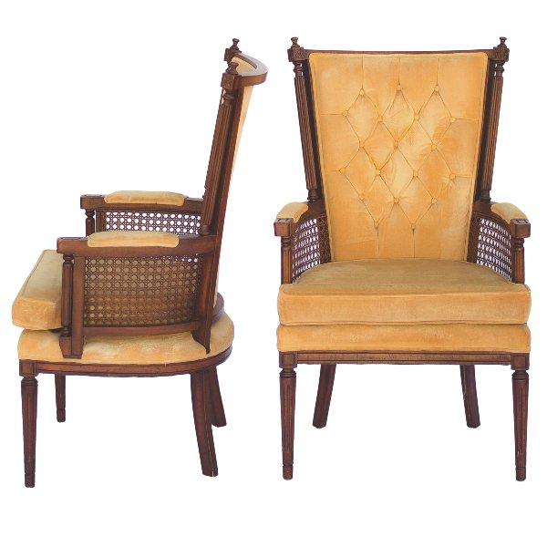 Darla Yellow Chairs