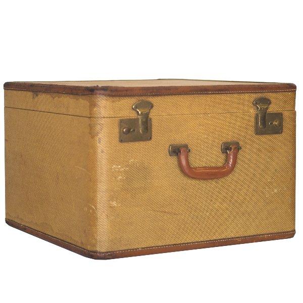 Tweed Square Luggage