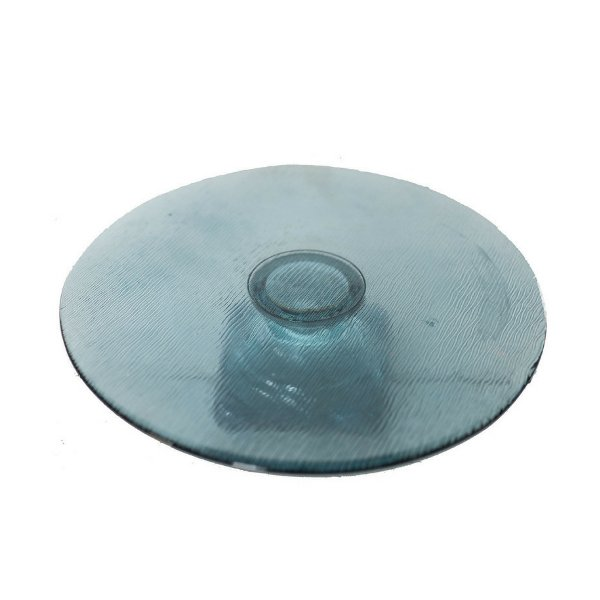 Blue Glass Cake Stand