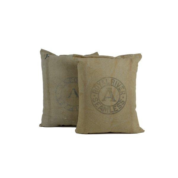 Large Feed Sack Pillows