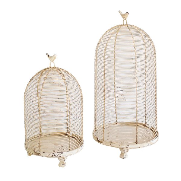 Set of Rustic Birdcages