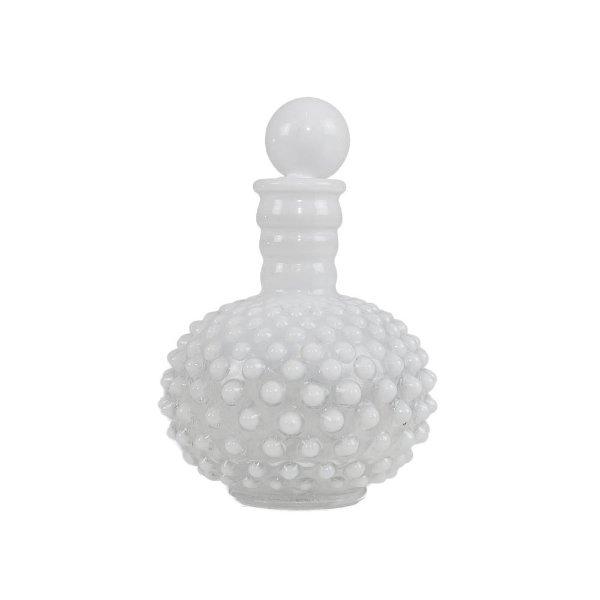 Milk Glass Perfume Bottle