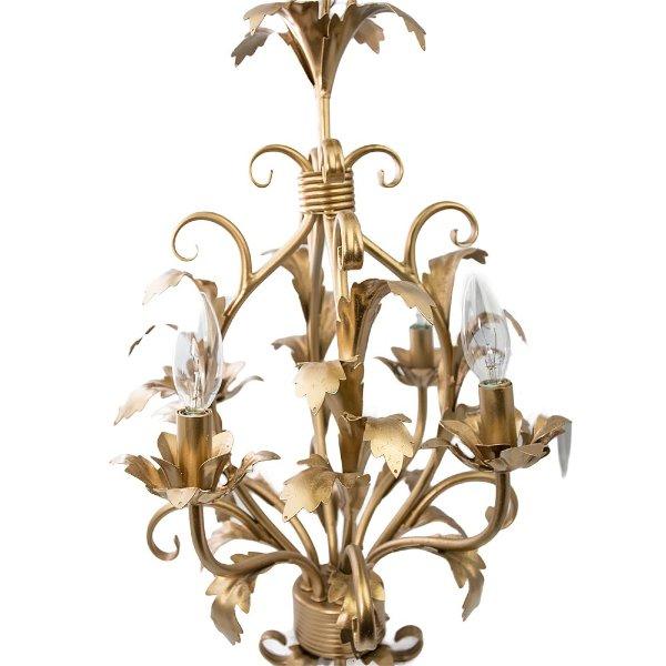 Italian Gold Chandelier