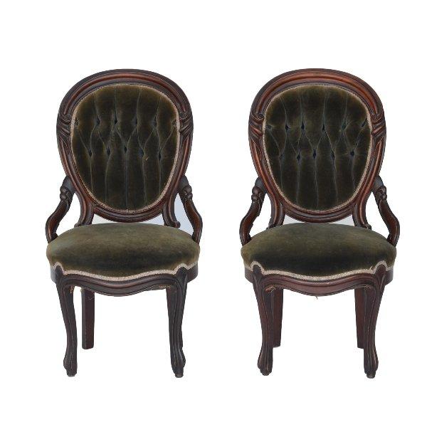Blackwell Velvet Chairs (Pair)