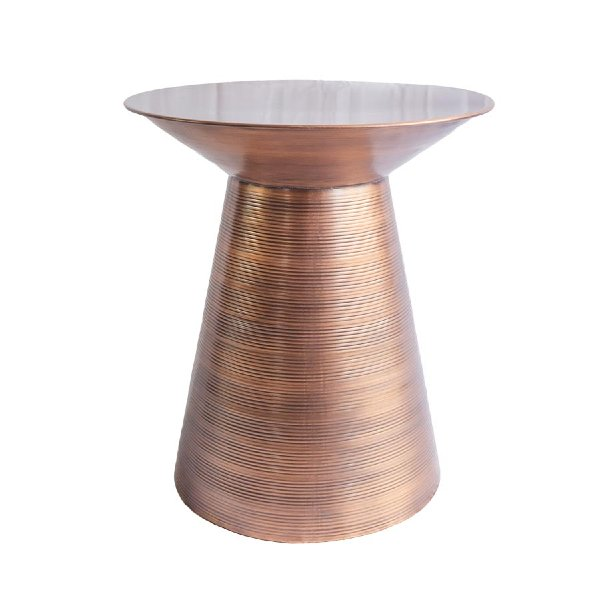 Guthrie Copper Side Table