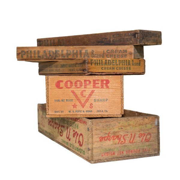 Wooden Cheese Boxes