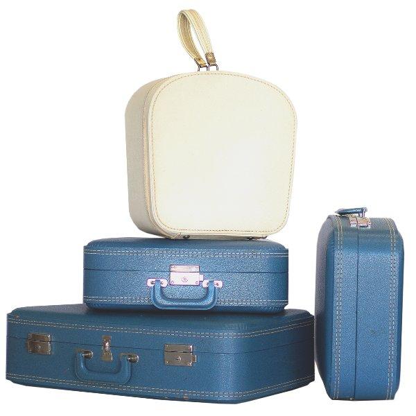 Periwinkle Blue Luggage Set